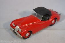BRUMM JAGUAR XK120 XK 120 CABRIOLET RED MINT CONDITION