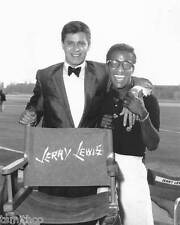 Jerry Lewis and Sammy Davis Jr. 8x10 Photo 019