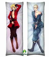 hetalia axis powers ludwig beillschmidt willia Anime Dakimakura body pillow case