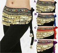 New Beautiful Belly Dance Belt Dancing Waist Chain Hip Scarf Belt Costume
