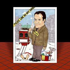 New ADRIAN MONK artist auto signed POSTER ART, san francisco, tv, Tony Shalhoub