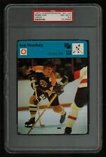 PSA 8.5 BOBBY ORR 1977 Sportscaster Hockey Card #01-02 JAPAN