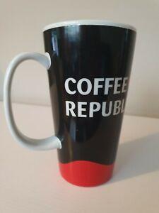 Coffee Republic Large Ceramic Mug 15cm Tall