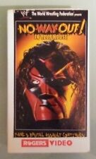 wwf wwe IN YOUR HOUSE NO WAY OUT !  1998  VHS VIDEOTAPE