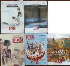 Lot de 5 catalogues COUTAU BEGARIE Planches originales BD Moebius Tardi KIRAZ
