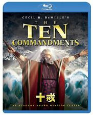 The Ten Commandments Japan Blu-ray PBH-132511 Charlton Heston New