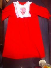 Vintage Original 1982 Strawberry Shortcake Pajamas,Nightgown Toddle,Child Size
