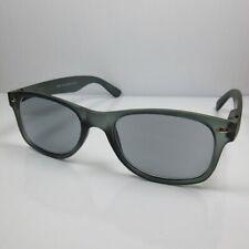 2in1Lesebrille-Sonnenbrille +2,0 Retro-Design petrol Damen&Herren Lesehilfe Etui