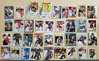 NHL Huge Hockey Card Lot - 190 Plus Cards - Gretzkey, Lemieux, Jagr, Stars, Rook