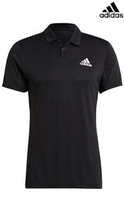 Adidas HEAT.RDY Men Tennis Polo Shirt Black GH7670