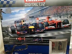Carrera Digital 132  set  box  number 30175.mega track  race duel