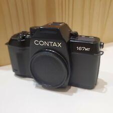 Contax 167MT 35mm Film SLR Camera w/ Data Back D-7