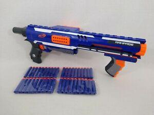 Nerf N-Strike Elite Rampage Gun Blaster with 40 Bullets Free Postage