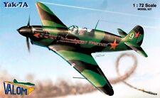 YAKOVLEV YAK-7 A (SOVIET AF MARKINGS) 1/72 VALOM RARE