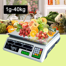 Digital Kitchen Postal Business Scale Electronic Price Computing Weight 1g- 40kg