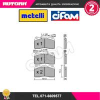 8222880 Kit pastiglie freno a disco ant (MARCA-CIFAM,METELLI).