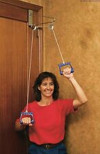 Over Door Shoulder Exercise Pulley with Extended Metal Bracket to Improve Motion