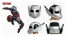 Ant Man Helmet Light Up Captain America Cosplay Resin Halloween Mask for Adult