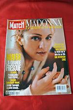 Madonna April 1998 Paris Match Import France Celebrity Magazine