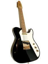NEW GREAT PLAYING 12 STRING TELE STYLE SEMI-HOLLOW THIN-LINE ELECTRIC GUITAR