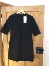 ZARA BLACK PENCIL DRESS SIZE MEDIUM SIZE 12 BNWT