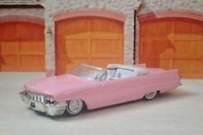 Pink Cadillac 1962 Cadillac Series 62 Convertible 1/64 Scale Limited Edition R