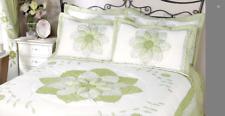 Ringley Home Gina Puffball Pillowsham Pair Green 50 x 75cm - New In Pack