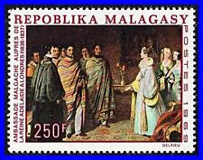MADAGASCAR 1969 painting by Henry Room SC#422 MNH CV$5.75 COSTUMES (K-LM-DEC)