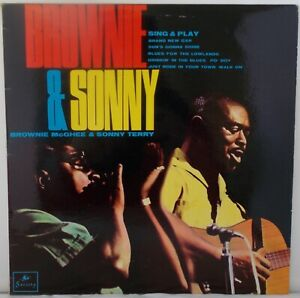 Brownie McGhee & Sonny Terry  - Sing and Play (EX) 1965 LP.