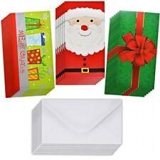 24 Christmas Gift Card Holder Christmas Money Holder Christmas Greeting Cards