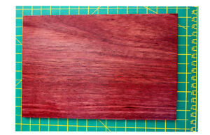 PURPLEHEART - EXOTIC WOOD. Ideal for Scales - Straight Razor, Knife Restoration.