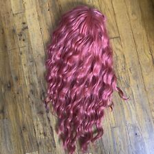 Motown Tress Let's Lace Deep Part Long Wig in pink