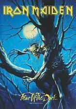 """IRON MAIDEN AUFKLEBER / STICKER # 45 """"FEAR OF THE DARK"""" - 7x5cm"""