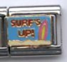 Surf's up WHOLESALE ITALIAN CHARM in stainless steel 9MM