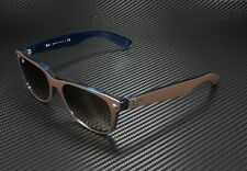 RAY BAN RB2132 6310A5 New Wayfarer Chocolate Opal Blue Pink Brown 55m Sunglasses