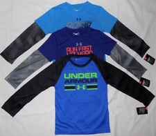 UNDER ARMOUR KIDS BOYS' GRAPHIC T-SHIRTS MAKES ALL ATHLETES BETTER 5 & 6 NWT