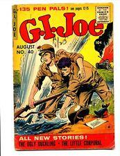 G.I. Joe #40    Ziff Davis 1955