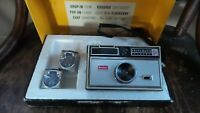 Vintage Kodak Instamatic 104 Outfit In Box 3 Flash Cubes
