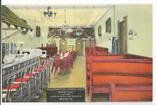 INTERIOR VIEW,WASHINGTON COFFEE SHOP-BEDFORD'S FINEST~BEDFORD,PA