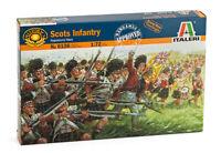Italeri 1:72 - 6136, Schottische Infanterie, 36 Figuren, Modellbausatz unbemalt,