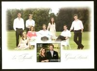 LUXEMBOURG 2010 GRAND DUCALE FAMILY  ROYALITY  MNH Souvenir sheet