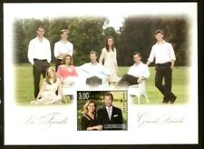 LUXEMBOURG 2010 - SG MS 1880 - GRAND DUCALE FAMILY - ROYALTY MNH Souvenir sheet