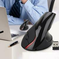 2,4 g ergonomische Maus optische vertikale Maus wiederaufladbare drahtlose Präzi