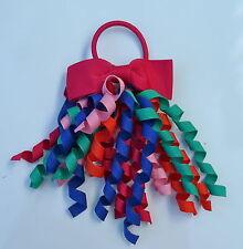 Gymboree Girls Hair Bobble / Hair Tie - Pink, Red, Blue, Orange, Jade Green, New