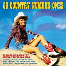 50 COUNTRY NUMBER ONES (Various Artists) 2CD