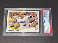 2013 Topps Update US150 Yellow Hat Gerrit Cole RC PSA 9 Rookie Hot!!!