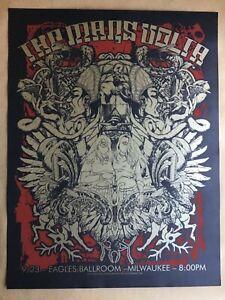 Rare Mars Volta Milwaukee Poster Jermaine Rogers 2006 NM Tool Metallica Mastodon