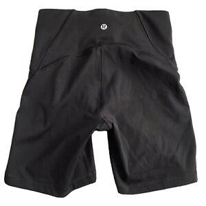 Lululemon Women's Size 4 Black Compression Shorts 5 Inch Inseam