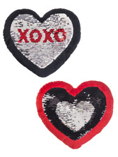 Ganz Heart Sequin Pillow, Choose Your Style (HV9304)