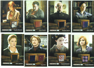 Warehouse 13 Various Seasons Costume Wardrobe Relic Card Selection